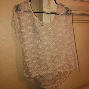 American Eagle top (beige) size M